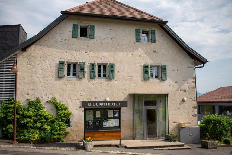 Bibliothèque Michel Butor à Lucinges - façade