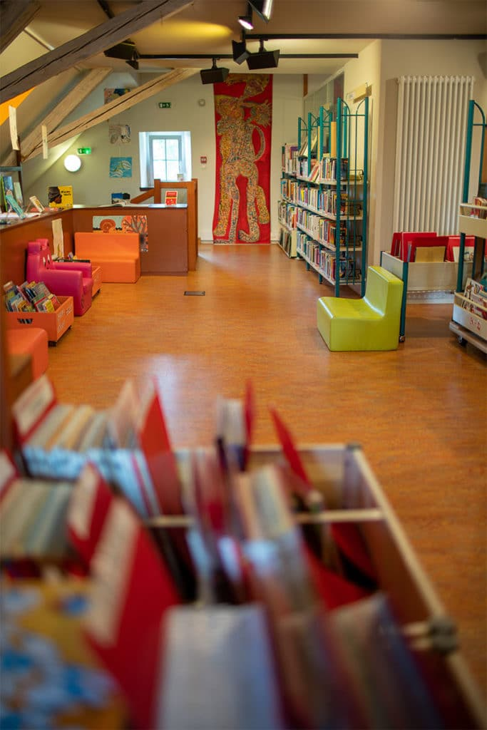 Bibliothèque Michel Butor à Lucinges