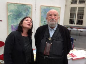 Michel Butor et Anne Slacik