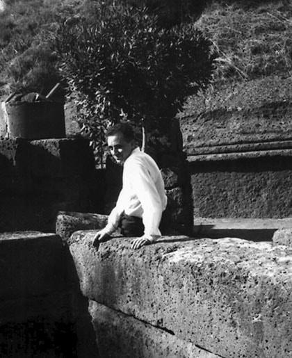 Michel Butor en Italie-1955