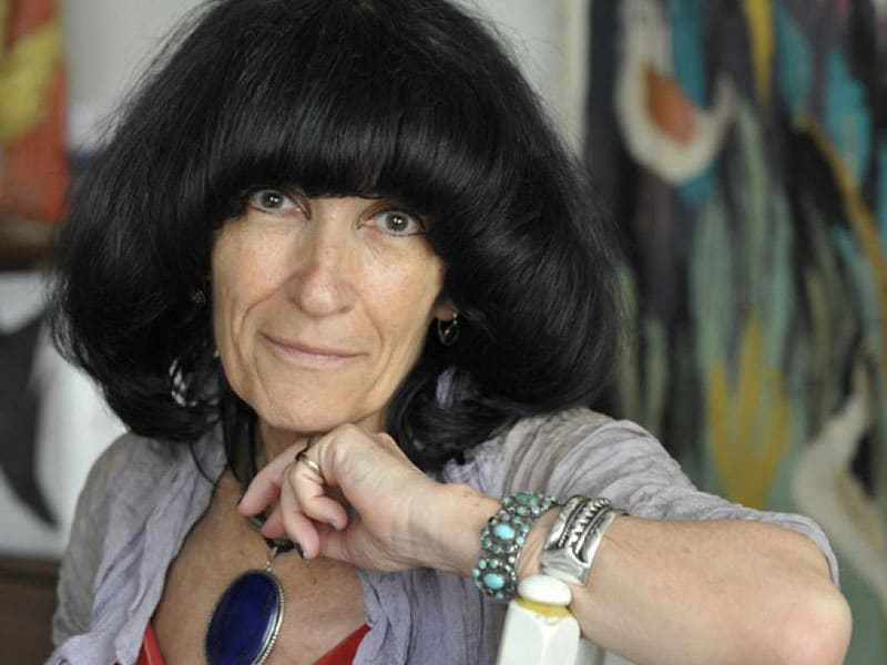 Portrait de Mireille Calle-Gruber par Jérôme Panconi