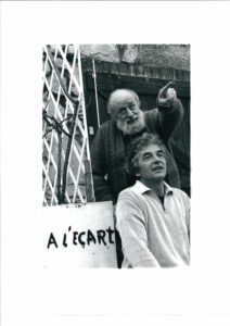 Michel Butor et Pierre Leloup, 2000