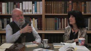 Mireille Calle-Gruber et Michel Butor à La Maison de Balzac à Paris, le 6 décembre 2014